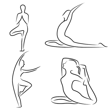 physical fitness: yoga