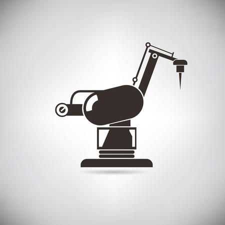 technological: robotic arm