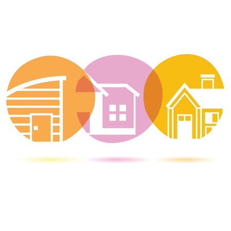 civic: building Illustration