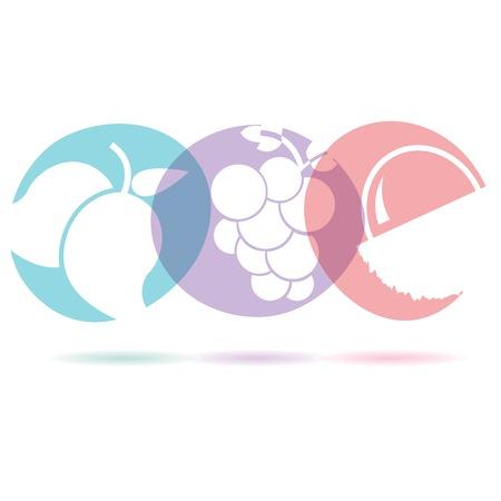 venereal: fruit icons