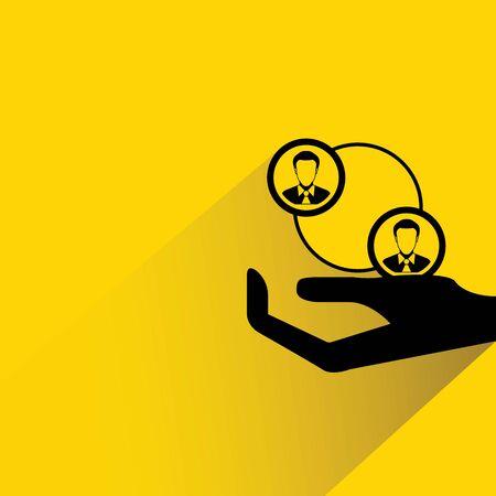 manpower: organization chart, manpower management