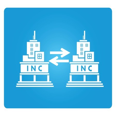 incorporation: Business To Business Illustration