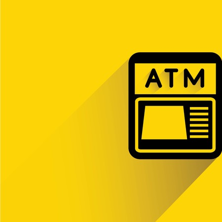 auto teller machine: ATM Illustration