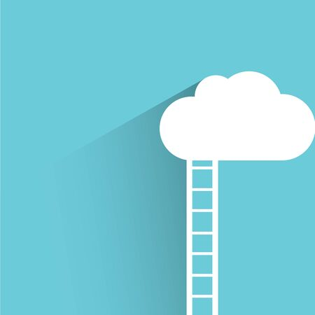 stairway: cloud and stairway