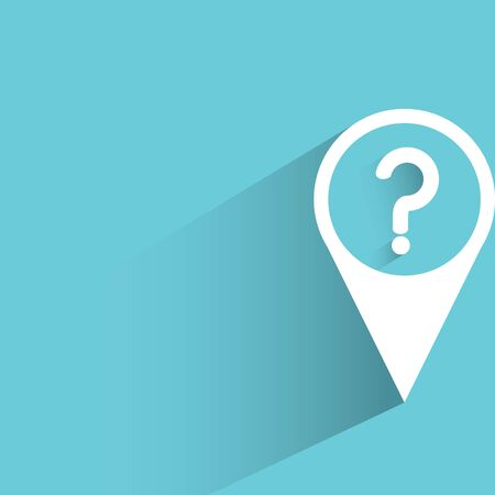 suggest: question mark in map pin