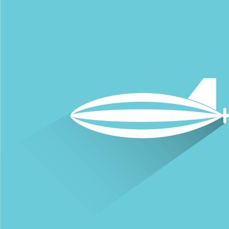 luftschiff: Luftschiff Illustration