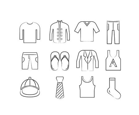pant: cloth and accessory icons