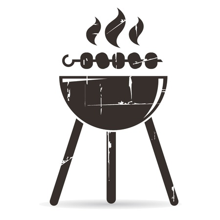 barbecue fire: bbq Illustration