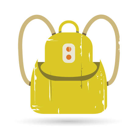 knapsack: knapsack, bag Illustration