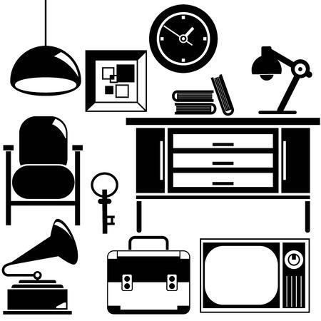 la décoration intérieure et le mobilier