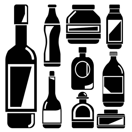 intoxicant: bottle icons