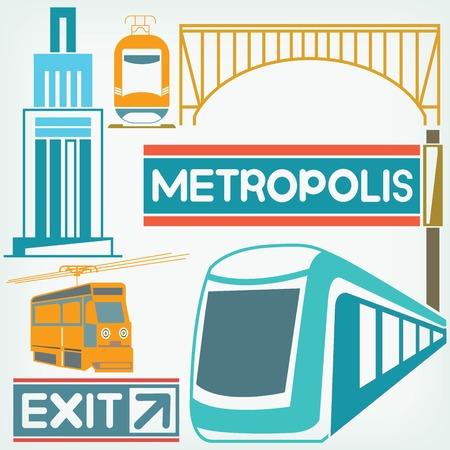 civic: city transportation concept Illustration