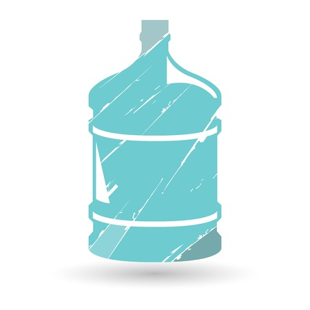 water cooler: barrel mineral water Illustration