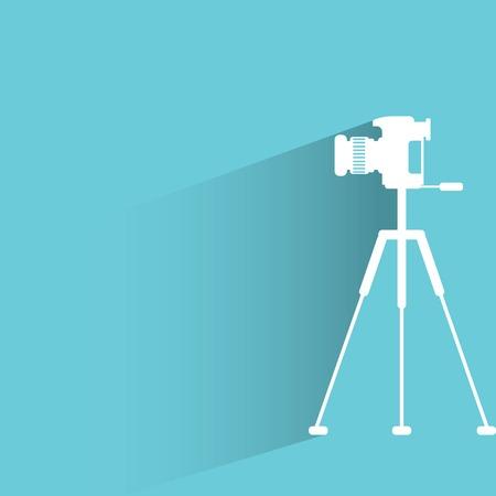 telephoto: camera Illustration