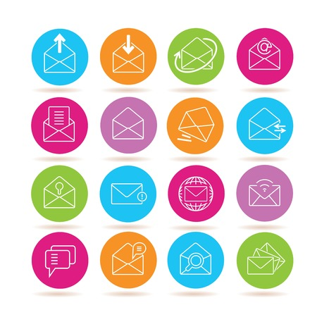 chatbox: letter icons