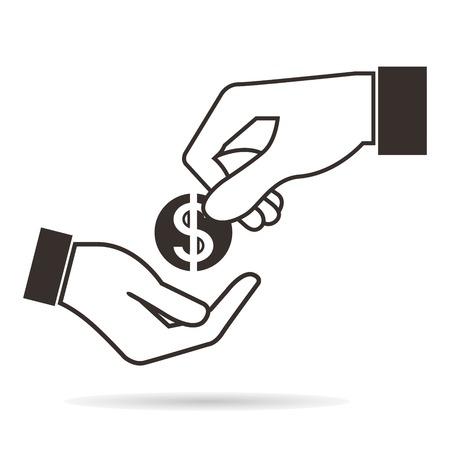 remuneraciones: pago Vectores