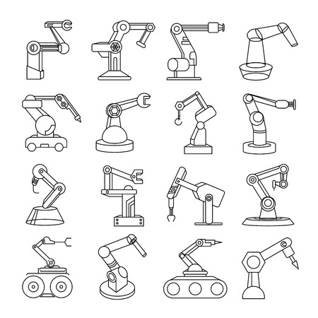 icônes robot