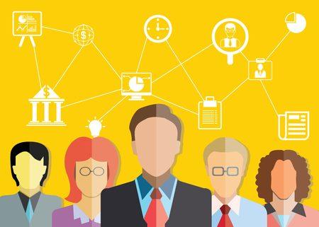 financial consultants, teamwork