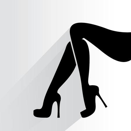smooth legs: woman legs