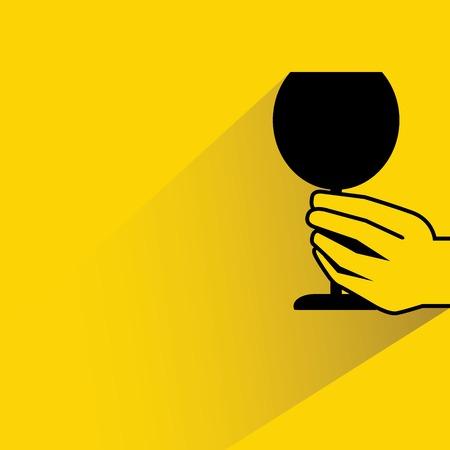 toasting wine: wine illustration