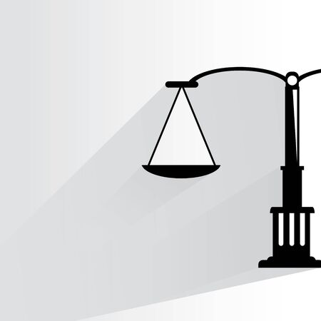 impartiality: justice scale