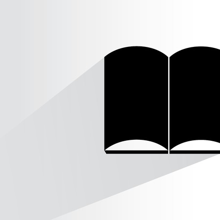 e reader: open book illustration