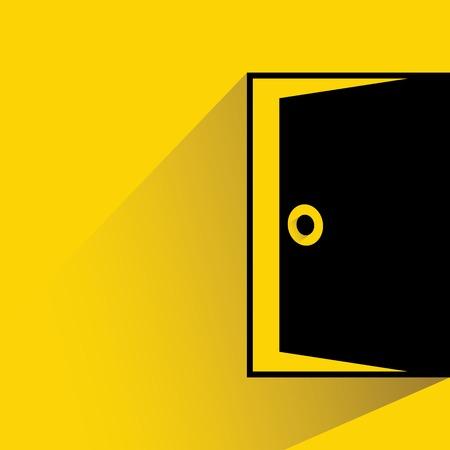 orifice: open door Illustration