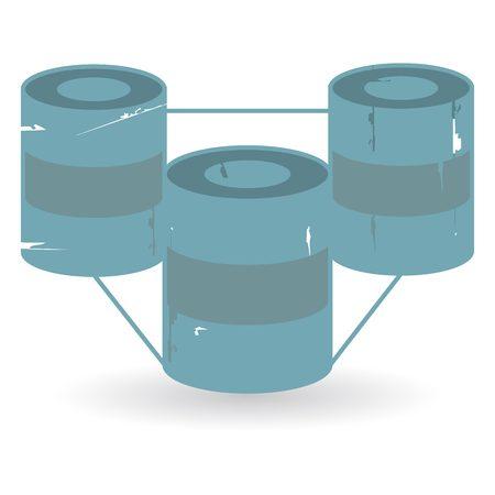 data base illustration  Illustration