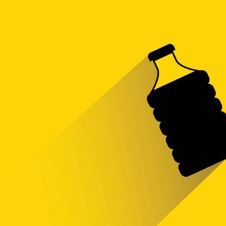 potation: water bottle illustration