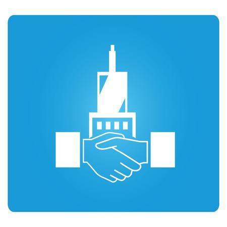building trade: joint venture Illustration