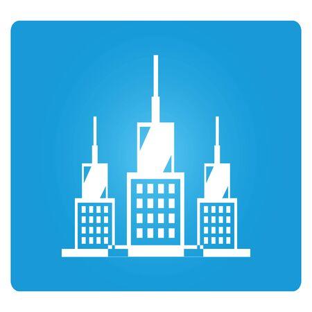 allocate: company building illustration