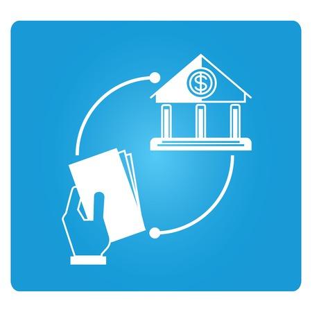 allocate: trading concept  illustration  Illustration