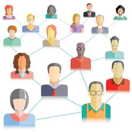 red de personas: red de personas