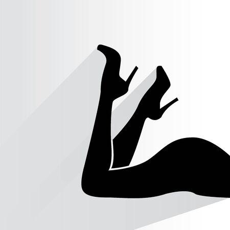 smooth shadow: women leg