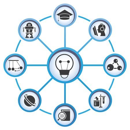 education concept  illustration  Vector