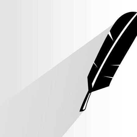 feather illustration  Vector