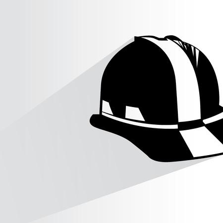 safety helmet illustration  Vector