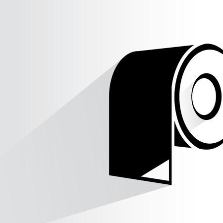 toilet roll: toilet paper roll