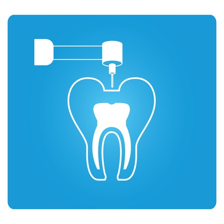 canals: root canal treatment Illustration