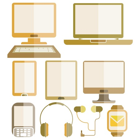 device: computer smart device icons