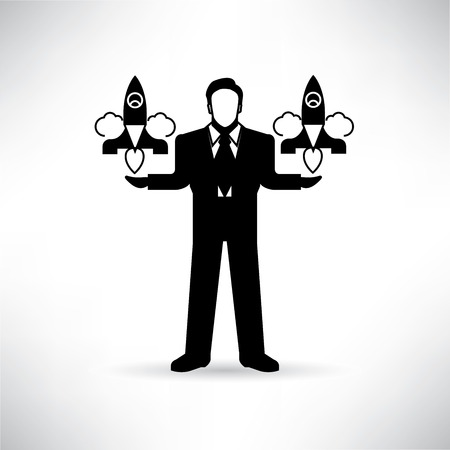 capitalist: venture capitalist Illustration