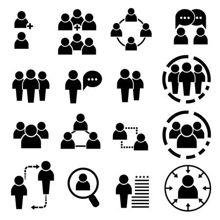 Mensen pictogrammen Stockfoto - 39483083
