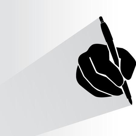 escrito Ilustración de vector