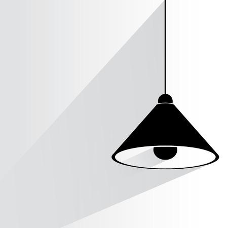 drop ceiling: lamp