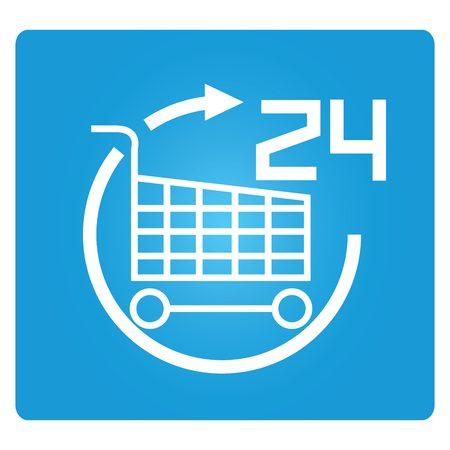 hrs: shopping 24 hrs
