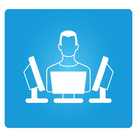 multitasking: multitasking Illustration