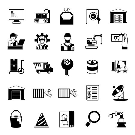 metier: industry icons