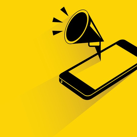 mobile marketing Vector