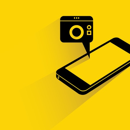 smart phone camera Vector