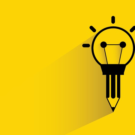 lightbulbs: creative thinking representation